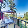 Puget Sound Views with Private Beach by RedAwning