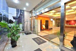 中国の上海にあるjoyful star hotel disney wanxia 最低料金を保証し