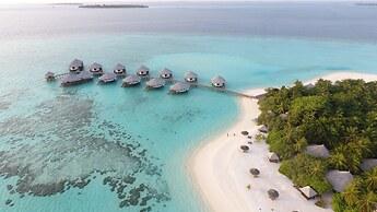 Hotelli Kihaa Maldives Kihaadhuffaru Saari Malediivit Paras