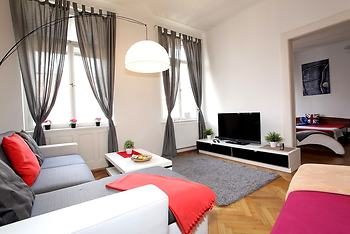 Large Wenceslas Square Apartment