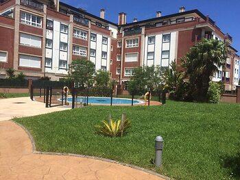 Apartamento con terraza en Bakio